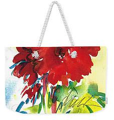 Red Gerberas Weekender Tote Bag