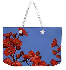 Red Gum Blossoms Weekender Tote Bag
