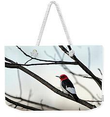 Red-headed Woodpecker Weekender Tote Bag
