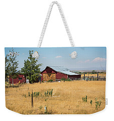 Red Home On The Range Weekender Tote Bag