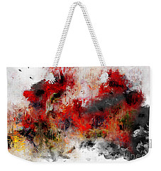 Weekender Tote Bag featuring the photograph Red Hope  by Claire Bull