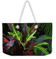 Red Hot And Green Weekender Tote Bag