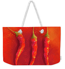 Hot Chili Peppers Weekender Tote Bag
