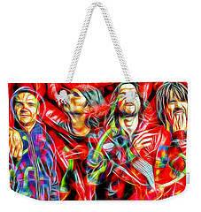Red Hot Chili Peppers In Color II  Weekender Tote Bag