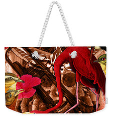 Red Hot Soul Music Weekender Tote Bag by Joseph Mosley