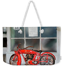 Red Hot Tail Gunner Weekender Tote Bag