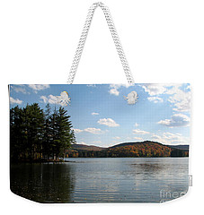 Red House Lake Allegany State Park Ny Weekender Tote Bag