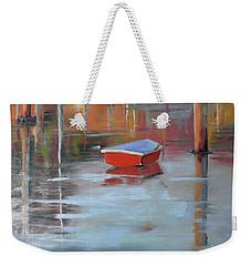 Red Humility Weekender Tote Bag