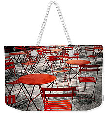 Red In My World - New York City Weekender Tote Bag