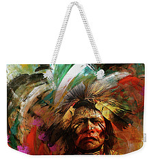 Red Indians 02 Weekender Tote Bag
