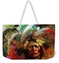 Red Indians 02 Weekender Tote Bag