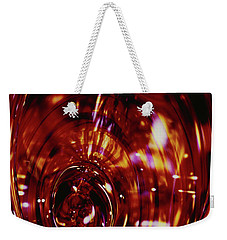 Red Inside Weekender Tote Bag