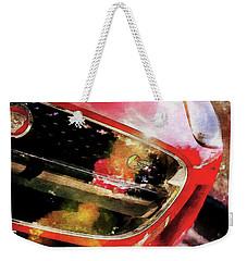 Red Jag Weekender Tote Bag