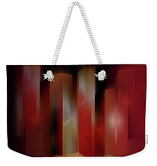 Red Weekender Tote Bag