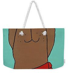 Red Kerchief Weekender Tote Bag
