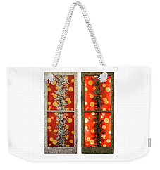 Red Light, White Line Weekender Tote Bag