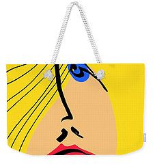 Red Lips Weekender Tote Bag