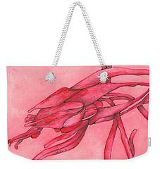 Red Lust Weekender Tote Bag