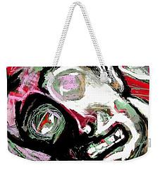 Red Magpie Weekender Tote Bag