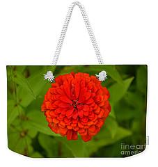 Red Marigold Weekender Tote Bag