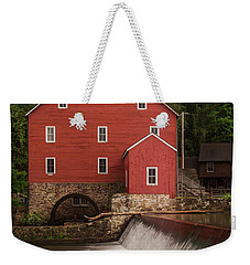 Red Mill Clinton New Jersey Weekender Tote Bag