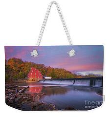 Red Mill Swirls  Weekender Tote Bag