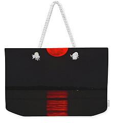 Red Moon Rising  Weekender Tote Bag