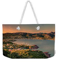 Red Mountains Weekender Tote Bag