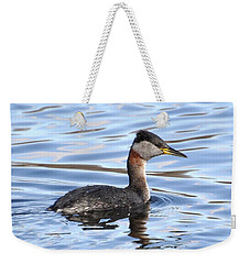 Red-necked Grebe Weekender Tote Bag