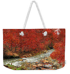 Red Oak Creek Weekender Tote Bag