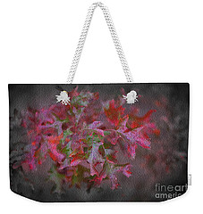 Red Oak Leaves, Grapevine Texas Weekender Tote Bag