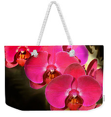Red Orchid11 Weekender Tote Bag