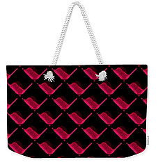 Red Ortho Weekender Tote Bag