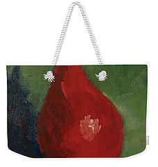 Red Pear Weekender Tote Bag