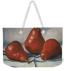 Red Pears Weekender Tote Bag