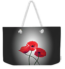Red Poppies Weekender Tote Bag by Lynn Bolt