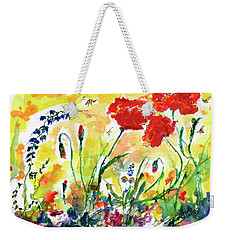 Red Poppies Provence 2017 Weekender Tote Bag