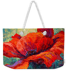 Red Poppy IIi Weekender Tote Bag