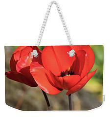 Red Poppy  Weekender Tote Bag