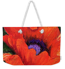 Red Rhapsody Weekender Tote Bag