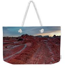 Red Ribbon Sunset Weekender Tote Bag