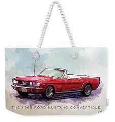Red Riding Hood Weekender Tote Bag