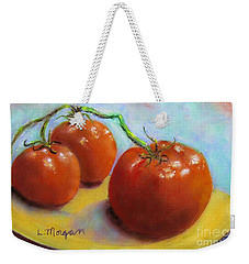 Red Ripe And Ready Weekender Tote Bag