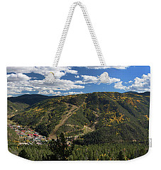 Red River In October Weekender Tote Bag