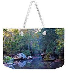 Red River Morning Weekender Tote Bag