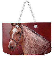 Red Roan Weekender Tote Bag