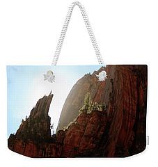 Red Rock At Zion Weekender Tote Bag