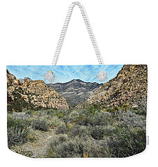Weekender Tote Bag featuring the photograph Red Rock Canyon - Nevada by Glenn McCarthy Art and Photography