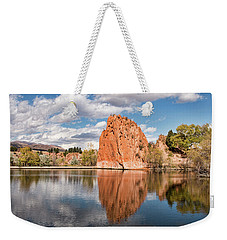 Red Rock Canyon Reservoir Weekender Tote Bag