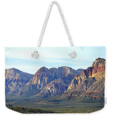 Weekender Tote Bag featuring the photograph Red Rock Canyon - Scale by Glenn McCarthy Art and Photography